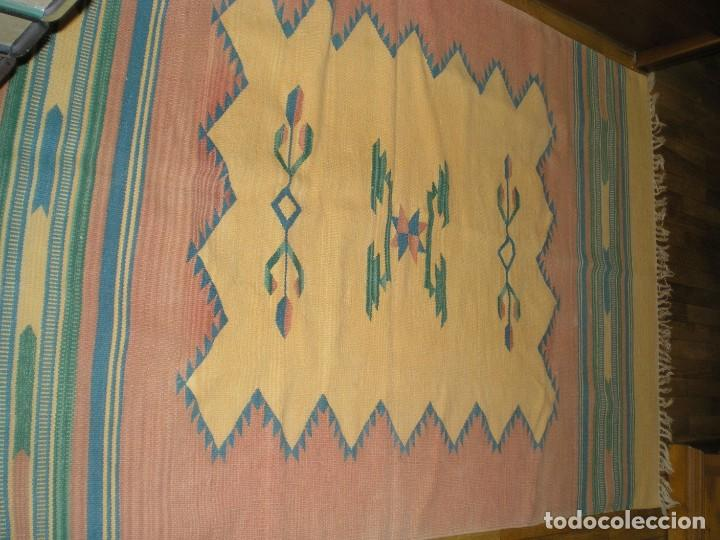 Antigüedades: ESTUPENDA ALFOMBRA - Foto 4 - 210409055