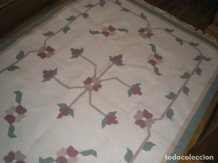 Antigüedades: ESTUPENDA ALFOMBRA - Foto 4 - 210409632