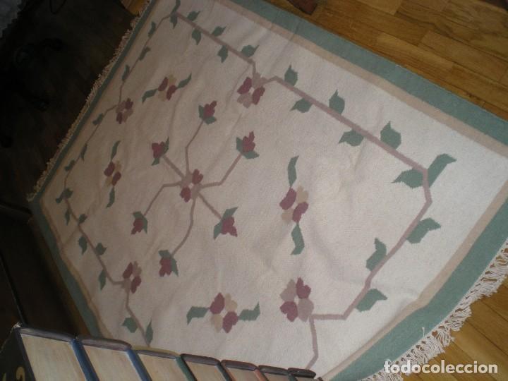 Antigüedades: ESTUPENDA ALFOMBRA - Foto 5 - 210409632