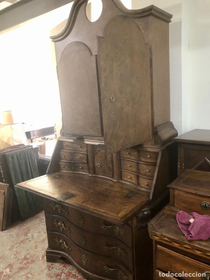 Antigüedades: CANTERANO ESCRITORIO-LIBRERÍA CATALÁN. ESPAÑA. SIGLO XVIII-XX. - Foto 8 - 210414743