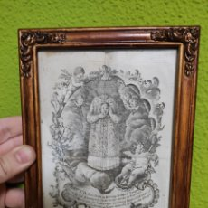 Antigüedades: INDULGENCIA JUAN SAENZ DE BURUAGA ARZOBISPO ZARAGOZA A MARTIR S. VITORES HUERTA ARRIBA BURGOS. Lote 210419345