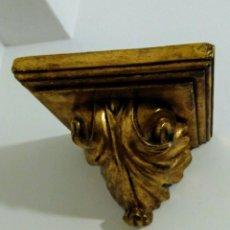 Antigüedades: PEANA MÉNSULA DORADA. Lote 210422677