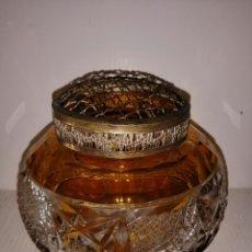 Antigüedades: BONITA Y RARA EN CRISTAL TALLADO. Lote 210443608