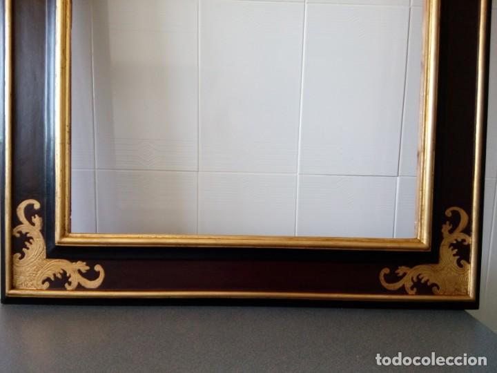 Antigüedades: Marco.Medida interior 65x80 exterior 90x115 - Foto 7 - 210448650