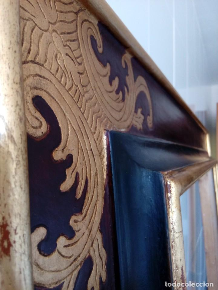 Antigüedades: Marco.Medida interior 65x80 exterior 90x115 - Foto 8 - 210448650