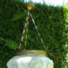 Antigüedades: ANTIGUA LAMPARA MODERNISTA. Lote 210457353