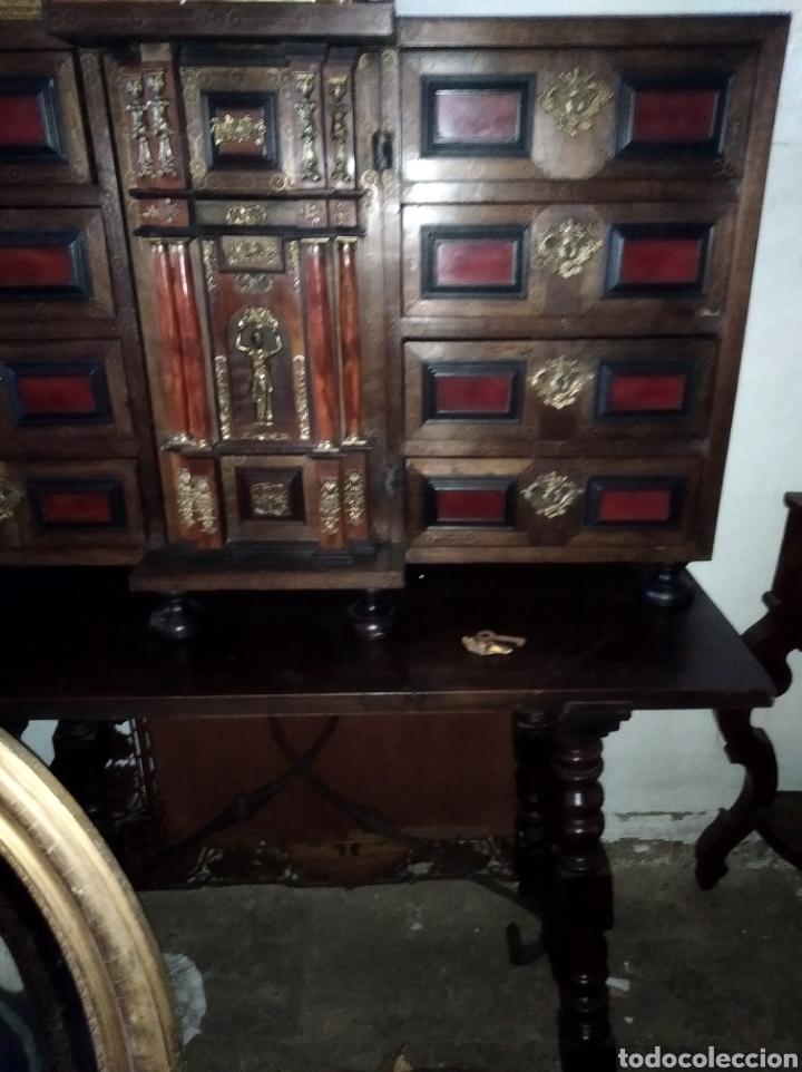 Antigüedades: Bargueño de carey - Foto 3 - 210458063