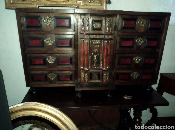 Antigüedades: Bargueño de carey - Foto 4 - 210458063