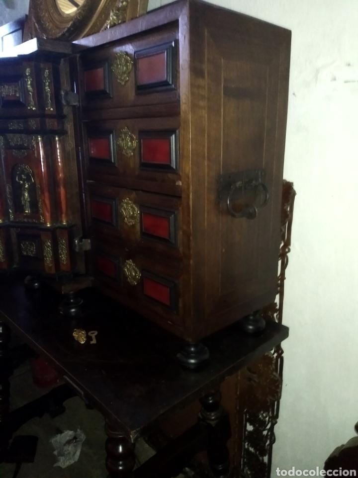 Antigüedades: Bargueño de carey - Foto 9 - 210458063