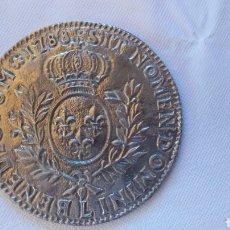 Antigüedades: POSAVASOS METAL SIMIL MEDALLA 1788. Lote 210478130