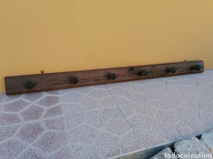 Antigüedades: Perchero de pared rústico antiguo - Foto 4 - 209877863