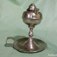 Antigüedades: ANTIGUO QUINQUE EN INOX.. Lote 210485415