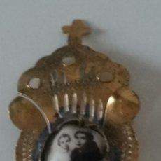 Antigüedades: INSIGNIA MODERNISTA SAN ANTONIO DE PADUA. Lote 210517738
