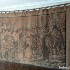 Antigüedades: TAPIZ ANTIGUO DE LA RENDICIÓN DE BREDA. Lote 210540085
