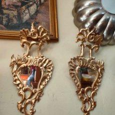 Antigüedades: PAREJA DE CORNUCOPIAS, GRAN TAMAÑO. Lote 210544797