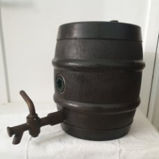 Antigüedades: BARRIL DE CERVEZA CON TIRADOR. Lote 210557005