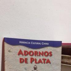 Antigüedades: ADORNOS DE PLATA. Lote 210565936