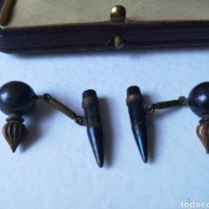 Antigüedades: GEMELOS BALA. Lote 210590453
