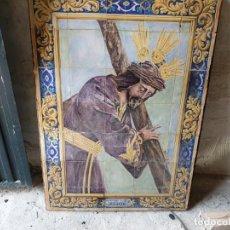 Antigüedades: FANTÁSTICO MURAL DE TRIANA SIGLO XIX. Lote 210605817