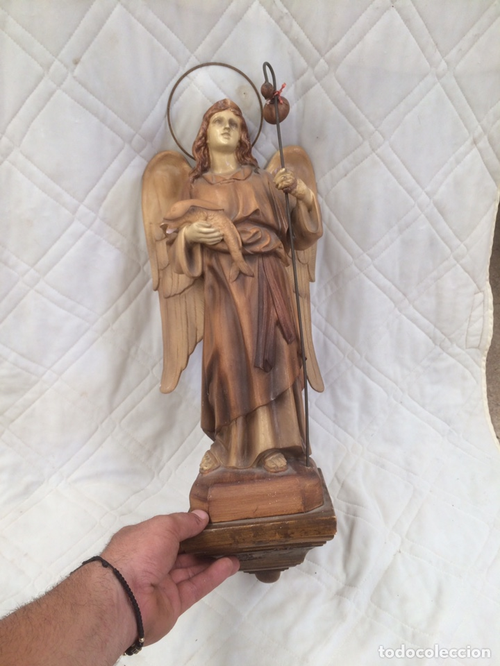 PRECIOSA FIGURA RELIGIOSA DE OLOT! (Antigüedades - Religiosas - Varios)