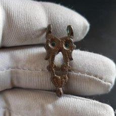 Antigüedades: HEBILLA MEDIEVAL ZOOMORFA, BUO. Lote 210629885