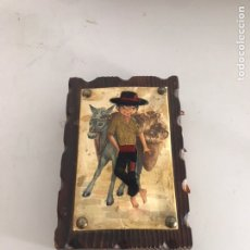Antigüedades: ANTIGUA FOSFORERA DE MADERA. Lote 210632321