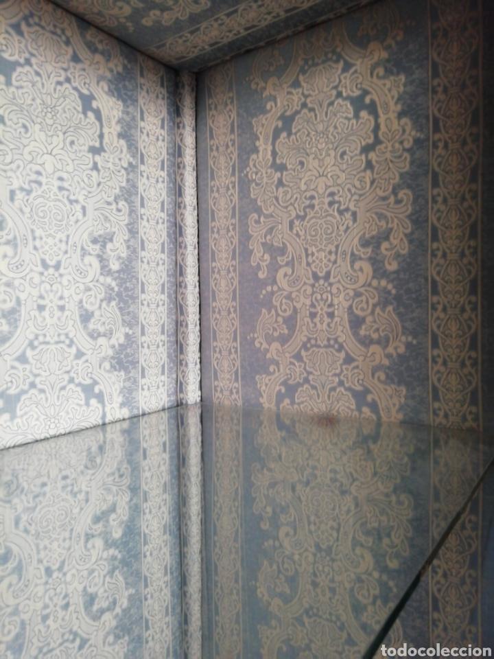 Antigüedades: Antigua vitrina de caoba - Foto 11 - 210649854
