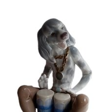 Antigüedades: LLADRO DOG BAND - ESCULTOR JUAN HUERTA 1971/1978 COL 1155. Lote 210660319