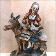 Antigüedades: FIGURA CERÁMICA. Lote 210680680