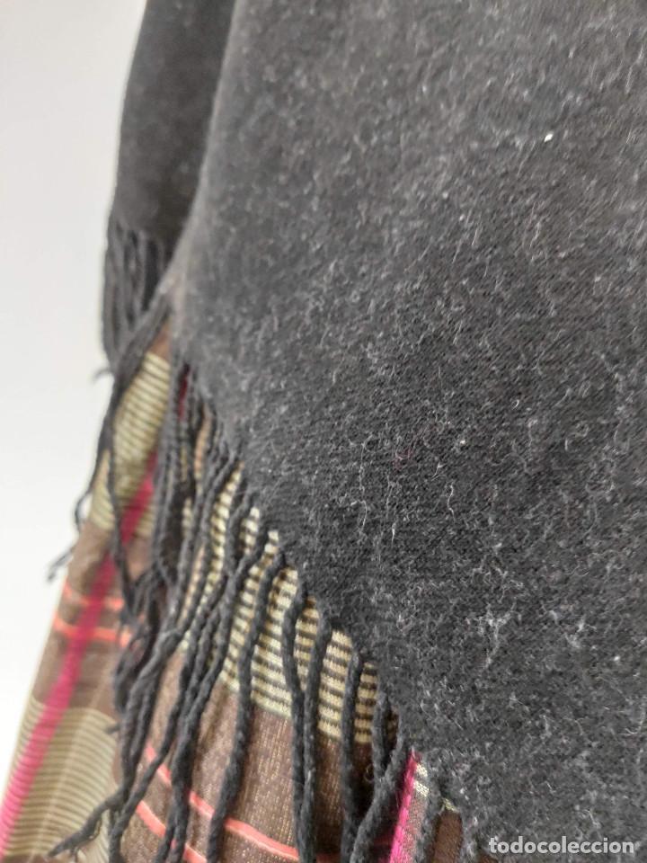 Antigüedades: Antiguo pico de mantón de lana - Foto 2 - 210684661