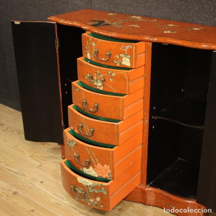 Antigüedades: Aparador chinoiserie lacado francés - Foto 7 - 210712949