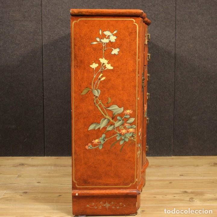 Antigüedades: Aparador chinoiserie lacado francés - Foto 9 - 210712949