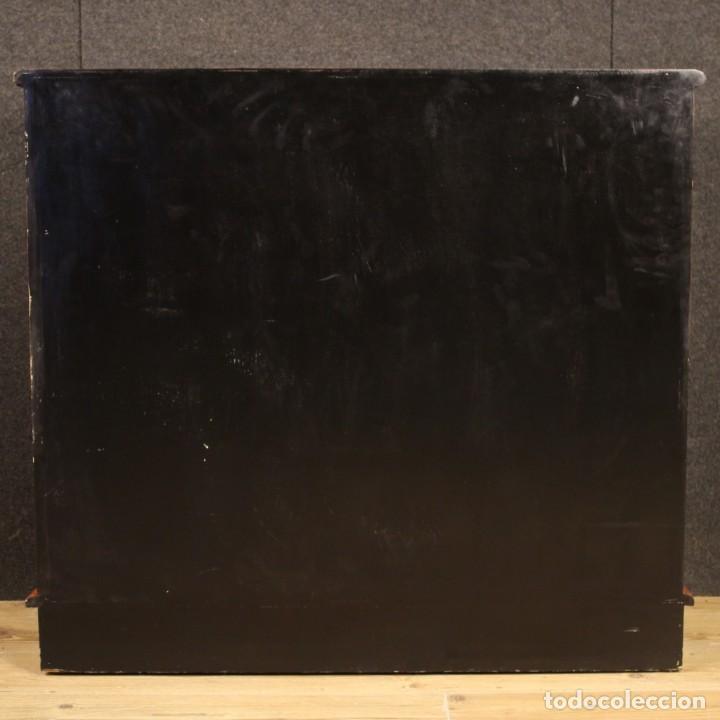 Antigüedades: Aparador chinoiserie lacado francés - Foto 10 - 210712949