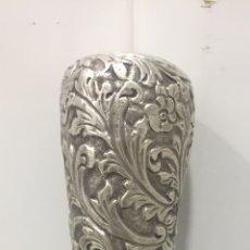 Antigüedades: ESPECTACULAR BASTÓN FRANCÉS EN PLATA ANTIGUA SIGLO XIX. Lote 210717269