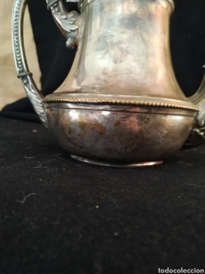 Antigüedades: Juego de café plateado .Ppios siglo xx . - Foto 11 - 210721386