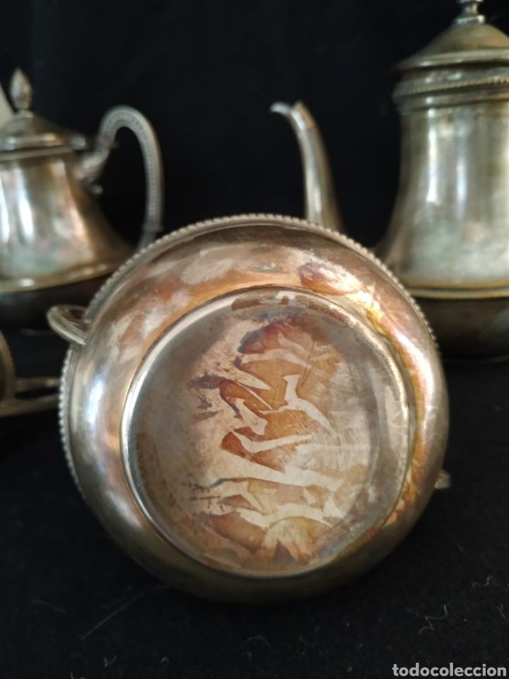 Antigüedades: Juego de café plateado .Ppios siglo xx . - Foto 23 - 210721386