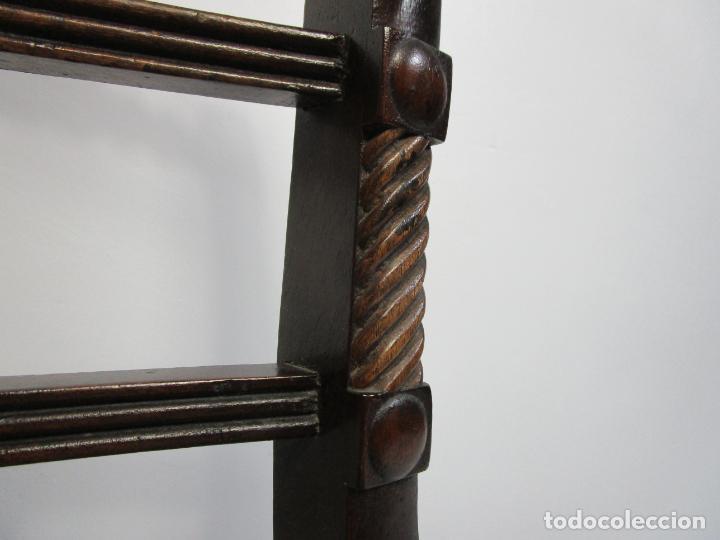 Antigüedades: Sillones Estilo Regency Ingles - Madera de Caoba - Tapicería Perfecta - S. XIX - Foto 14 - 210725272
