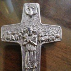 Antigüedades: CRUCIFIJO BUEN PASTOR. Lote 210739790