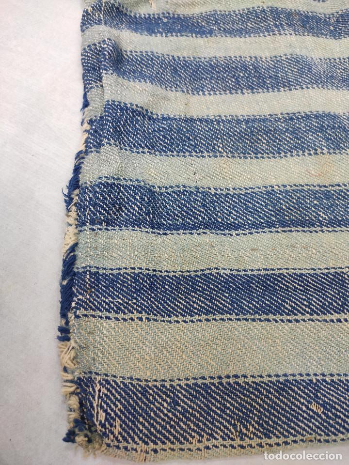 Antigüedades: Alforja de lana tejida en telar - Foto 3 - 210744245