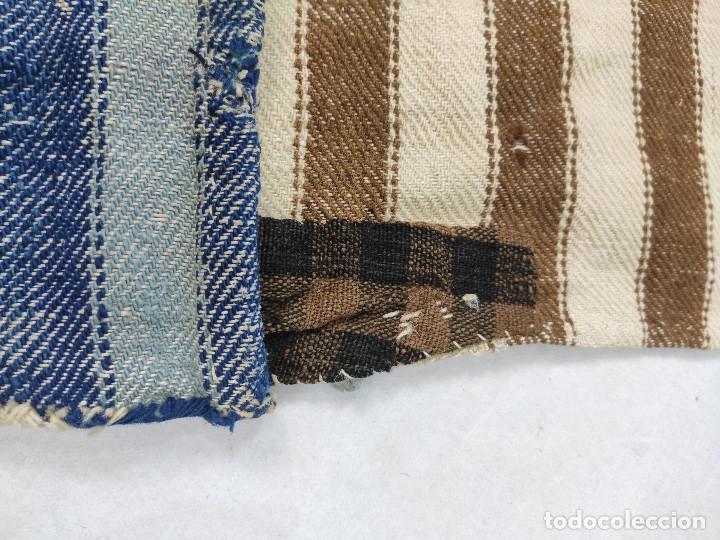 Antigüedades: Alforja de lana tejida en telar - Foto 4 - 210744245