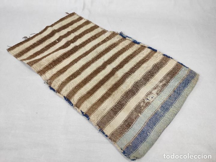 Antigüedades: Alforja de lana tejida en telar - Foto 6 - 210744245