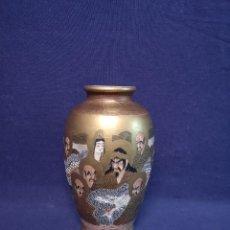 Antigüedades: JARRON EN CERAMICA SATSUMA. Lote 210780326