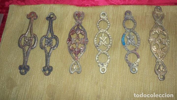Antigüedades: PIEZAS DE ANTIGUA LAMPARA VOTIVA - Foto 2 - 210781897