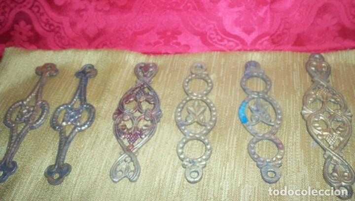 Antigüedades: PIEZAS DE ANTIGUA LAMPARA VOTIVA - Foto 4 - 210781897