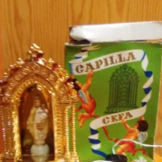 Antigüedades: RECUERDO CAPILLA CEFA CON LUZ. Lote 210790766