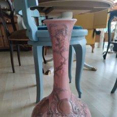 Antigüedades: IMPRESIONANTE Y BUSCADISIMO JARRÓN MELOCOTONES ROSAS DE LLADRO. Lote 210808520