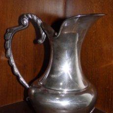 Antigüedades: JARRA DE AGUA DE ALPACA. Lote 210814885