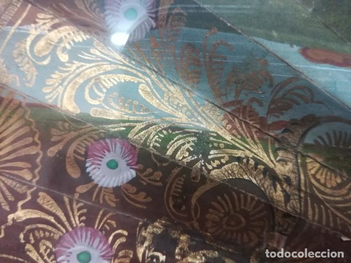 Antigüedades: Abanico cristinos con abaniqueras - Foto 7 - 210824601