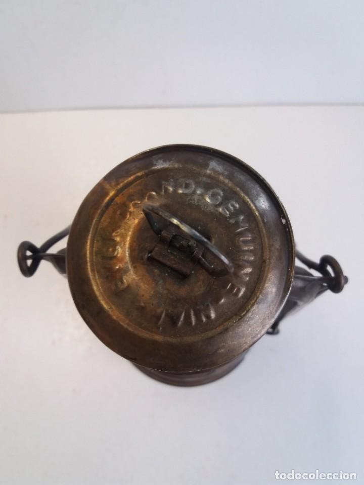 Antigüedades: EXCEPCIONAL GENUINO ANTIGUO FAROL AÑOS 50 S - Foto 7 - 210838316