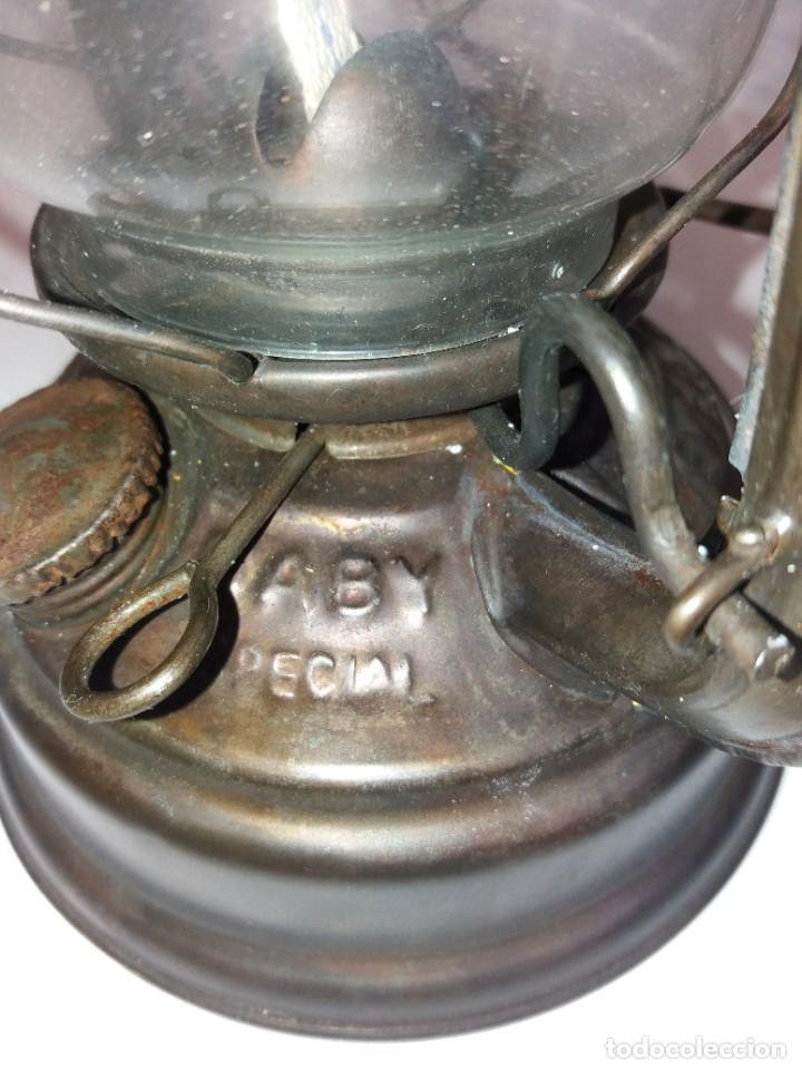 Antigüedades: EXCEPCIONAL GENUINO ANTIGUO FAROL AÑOS 50 S - Foto 14 - 210838316